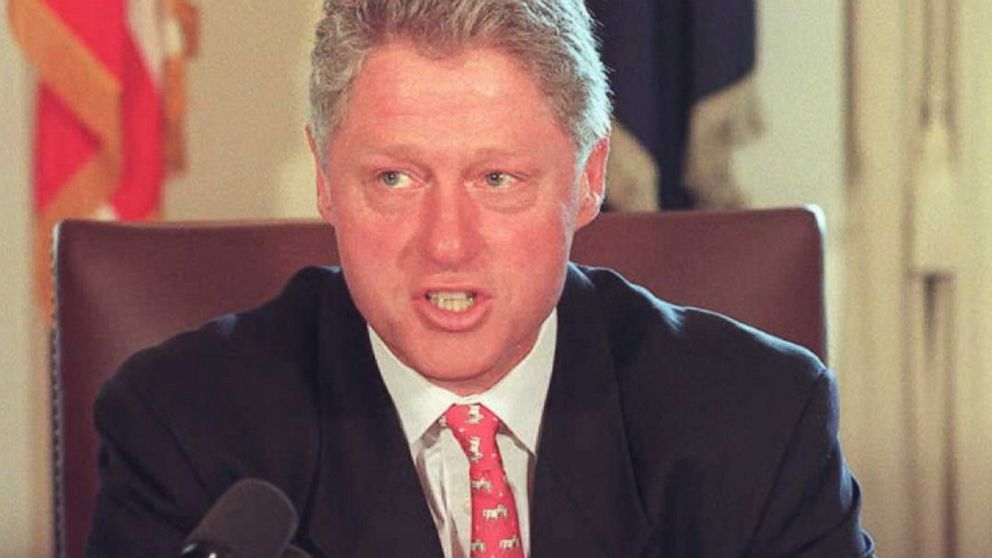 PHOTO: bill clinton government shutdown