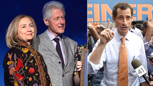 GTY clintons anthony weiner 2 nt 130729 16x9 608 Sources: Clintons Patience Growing Thin with Anthony Weiner