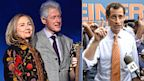 PHOTO: Bill Clinton, Hillary Clinton, and Anthony Weiner