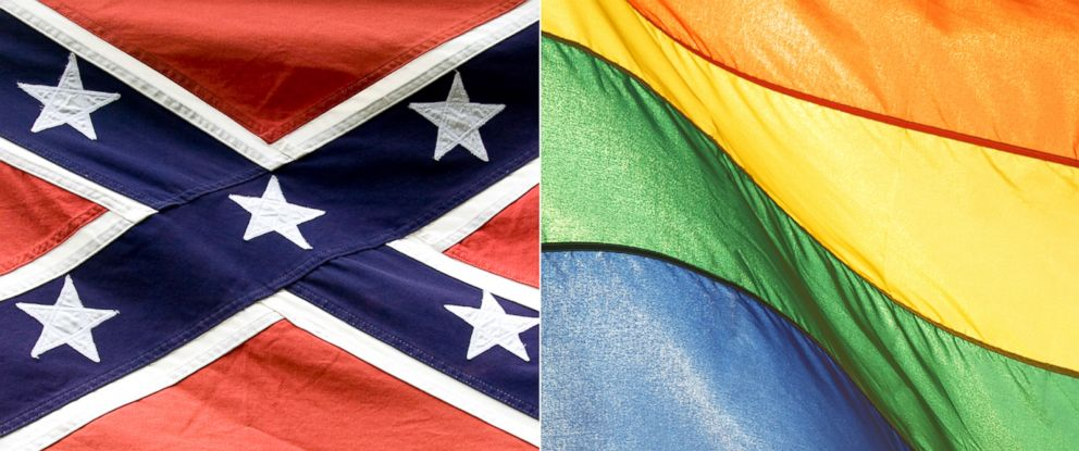 PHOTO: This week one flag – the Stars and Bars of the old Confederacy that define discrimination and even hatred for so many - effectively came down across the nation.
