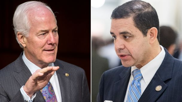 GTY cornyn cuellar jef 140714 16x9 608 Bipartisan Duo To Introduce Border Bill