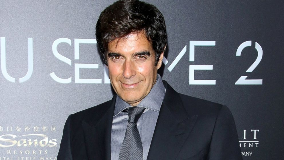 David Copperfield Heads to Capitol Hill to Support Bill ...