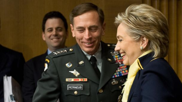 GTY david petraeus hillary clinton jt 140209 16x9 608 Did Petraeus Just Endorse Hillary Clinton?