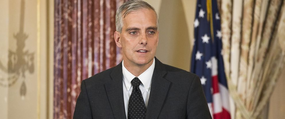 PHOTO:White House Chief of Staff Denis McDonough speaks during an event at the Department of State in Washington, Nov. 16, 2015.