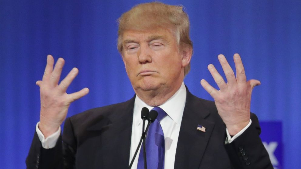 Image result for trump short hands