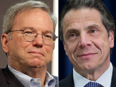 Cuomo Criticized for Seeking Tech Advice From Google's Schmidt