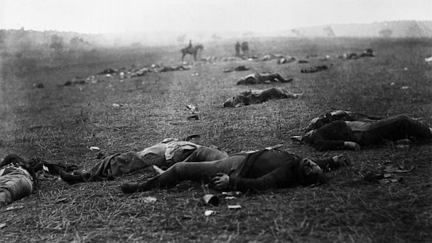 harvest of death, battle of gettysburg