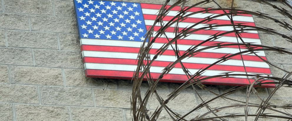 PHOTO: The U.S. Naval Base is pictured in Guantanamo Bay, Cuba on August 7, 2013.