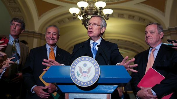GTY harry reid jef 130716 16x9 608 No Agreement Reached, Senate Filibuster Fight Looms