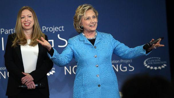 GTY hillary chelsea clinton kab 140418 16x9 608 Will Hillary Clinton Skip Arkansas on Her Book Tour?