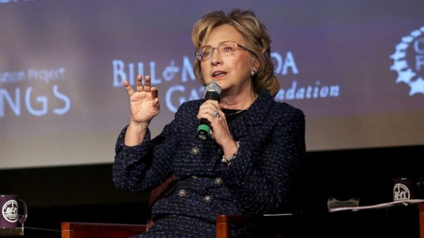 GTY hillary clinton jef 140213 16x9 608 Hillary Clinton Wants Young Women To Grow Skin Like A Rhinoceros