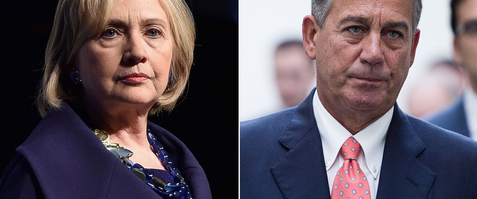 PHOTO: Hillary Clinton | John Boehner