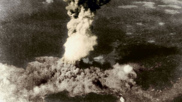 PHOTO: Atomic bomb dropped on Hiroshima, Japan, Aug. 6, 1945.