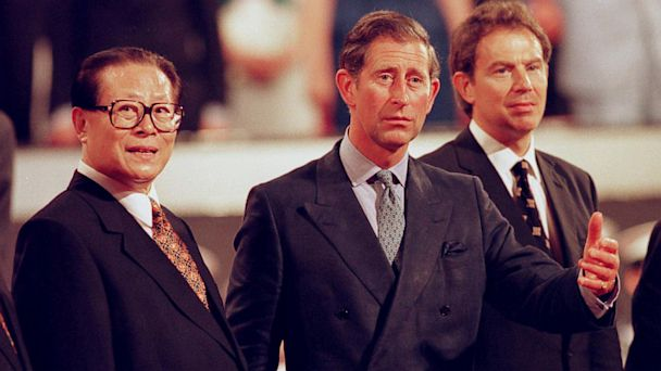 PHOTO: Prince of wales, jiang chemin, prince charles, Jiang Zemin, hong kong, china