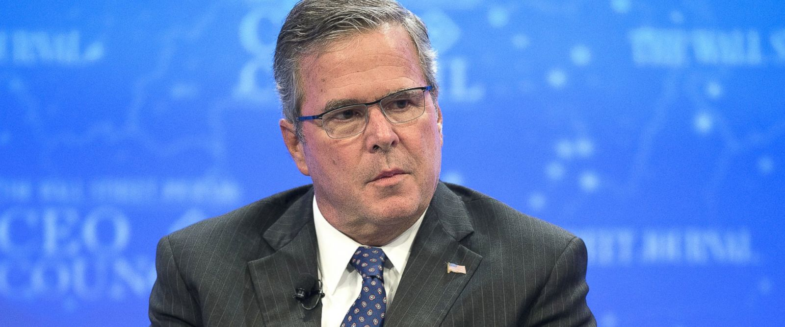 PHOTO: Former Florida Governor Jeb Bush speaks during the Wall Street Journal CEO Council in Washington, Dec. 1, 2014.