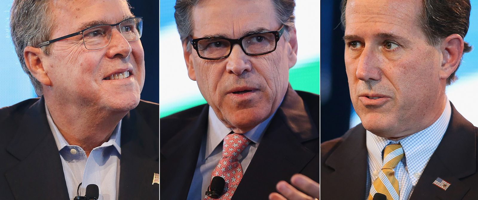 PHOTO: Jeb Bush | Rick Perry | Rick Santorum