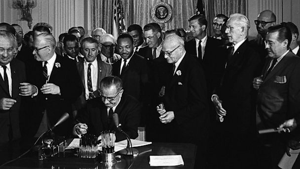 lyndon johnson, lbj, civil rights act, mlk, martin luther king jr