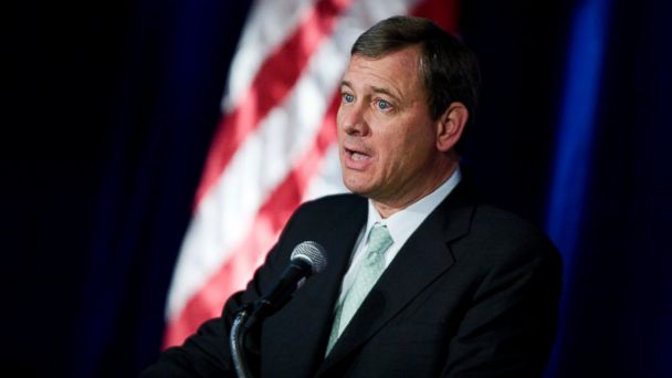 GTY justice john roberts sr 131231 16x9 608 Chief Justice Summons Scrooge in New Years Eve Report