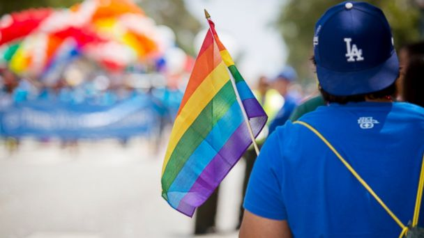 GTY la gay pride jef 140616 16x9 608 Obama to Ban Federal Contractors From LGBT Bias Against Workers