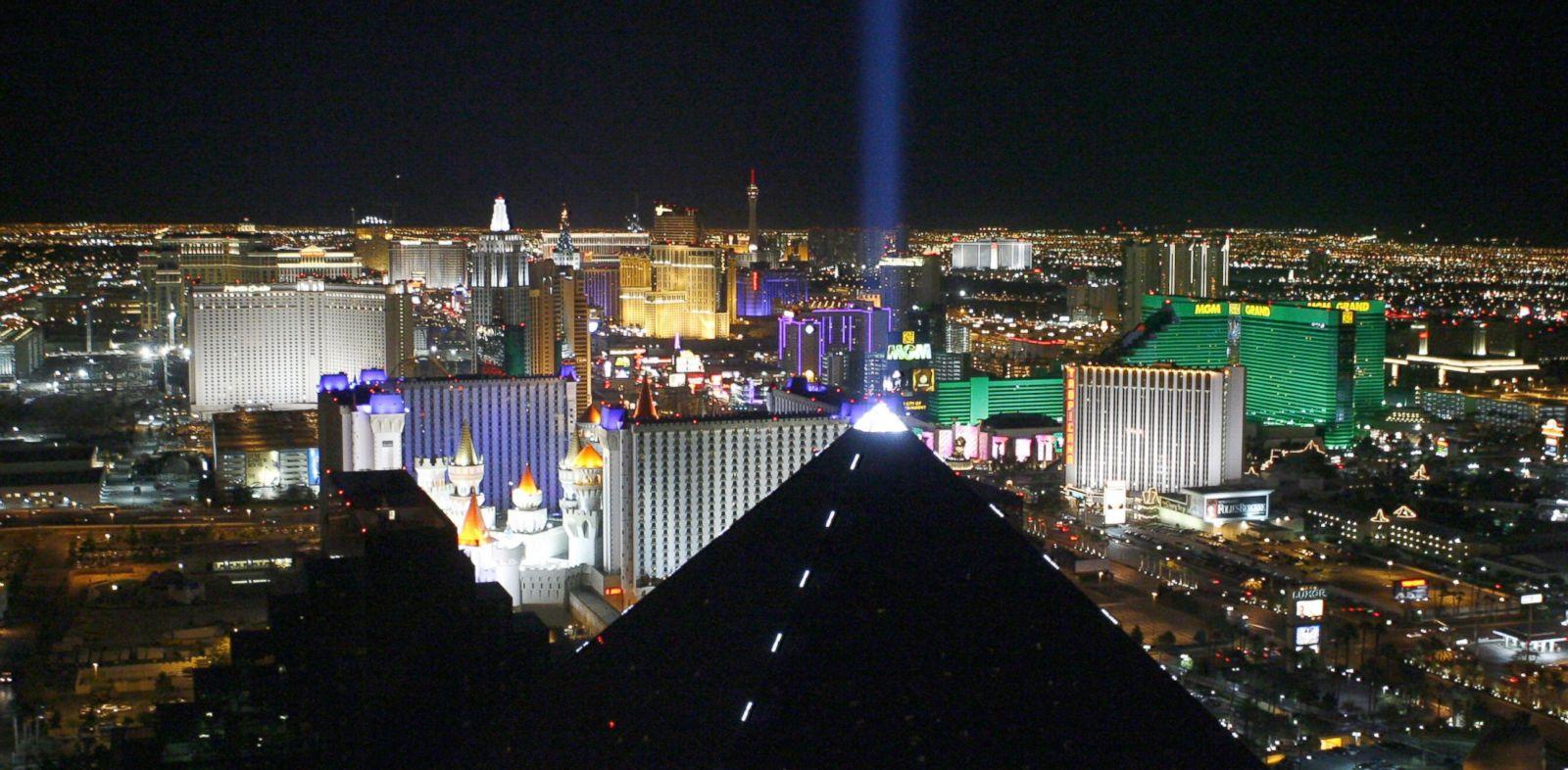 PHOTO: The skyline during Las Vegas Strip at Night at Las Vegas in Las Vegas.