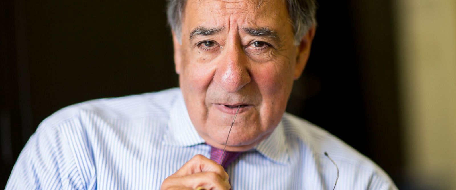 PHOTO: Former Director of the Central Intelligence Agency (DCIA) under President Barack Obama, Leon Panetta at the Panetta Institute, Seaside, California, 2015.