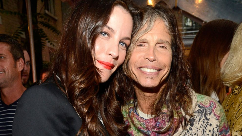 PHOTO: Liv Tyler and Steven Tyler attend the Stella McCartney Spring 2014 Collection Presentation at West 10th Street, June 10, 2013, in New York.