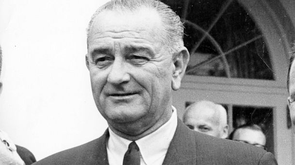 PHOTO: President Lyndon Baines Johnson, circa 1965.