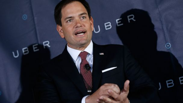 GTY marco rubio jtm 140324 16x9 608 Marco Rubio Wants Government to Clear the Road for Uber