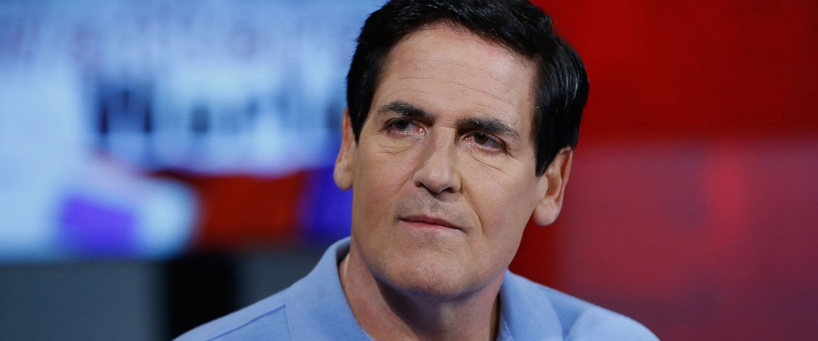 """PHOTO: Mark Cuban visits Fox News Channels """"Watters World"""" on June 9, 2016 in New York City."""