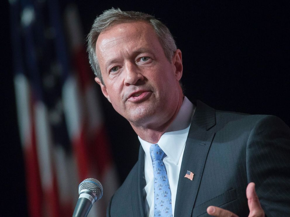 PHOTO: Martin OMalley is pictured on Aug. 14, 2015 in Clear Lake, Iowa.