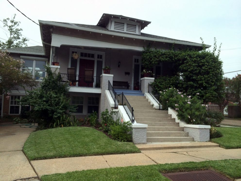 PHOTO: The home where Sen. Mary Landrieu is registered to vote and where her parents, Moon and Verna Landrieu, live in New Orleans, Aug. 27, 2014.