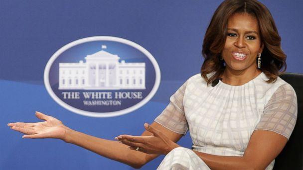 GTY michelle obama mar 140623 16x9 608 Michelle Obama on Taking Sasha to Job Interview, Work Family Struggles