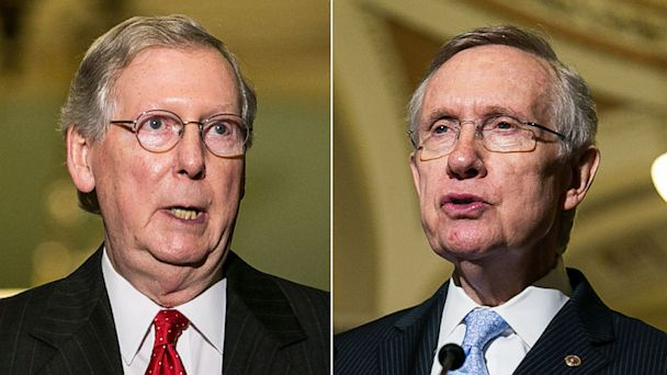 GTY mitch mcconnell harry reid lpl 130712 16x9 608 Reid and McConnell Lead the Charge on Senate Deal