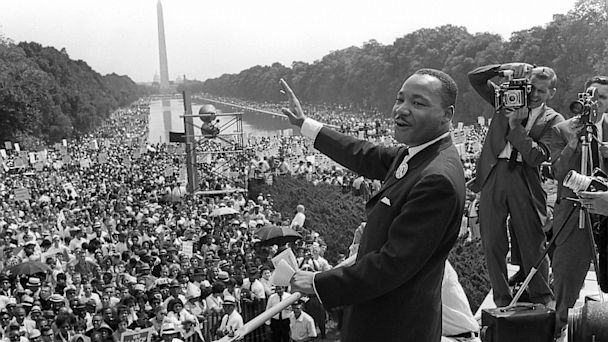 GTY mlk march on washington dm 130828 16x9 608 LIVE UPDATES: March on Washington Anniversary: 50 Years After I Have a Dream