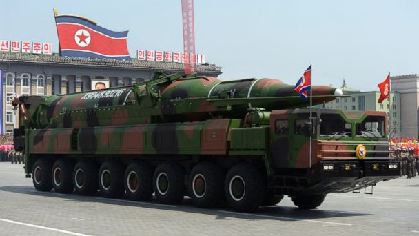 GTY north korea missile kab 140326 16x9 608 North Korea Launches Two Mid Range Ballistic Missiles