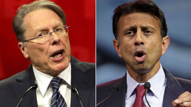GTY nra jindal lapierre jtm 140425 16x9 608 The NRA Blasts Michael Bloomberg at Annual Convention