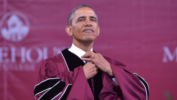GTY obama graduation kab 140429 16x9 608 Graduation 2014: Politicians Hit The Commencement Circuit