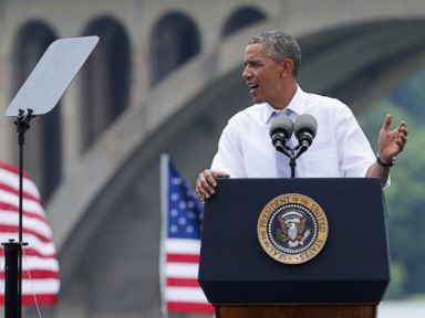 Obama Knocks Do-Nothing Republicans: 'So Sue Me'
