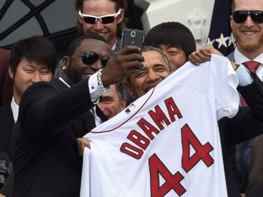 Why 'Big Papi' Got Paid to Take Selfie With President Obama