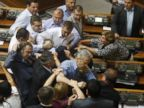 Brawl Erupts in the Ukrainian Parliament