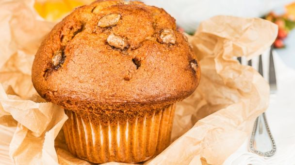 PHOTO: A pumpkin muffin, a Fall favorite, is shown.