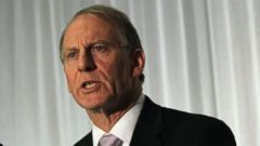 PHOTO: In this file photo, Richard Haass speaks to the media during a press conference at the Stormont hotel in Belfast, Northern Ireland on Dec. 31, 2013.