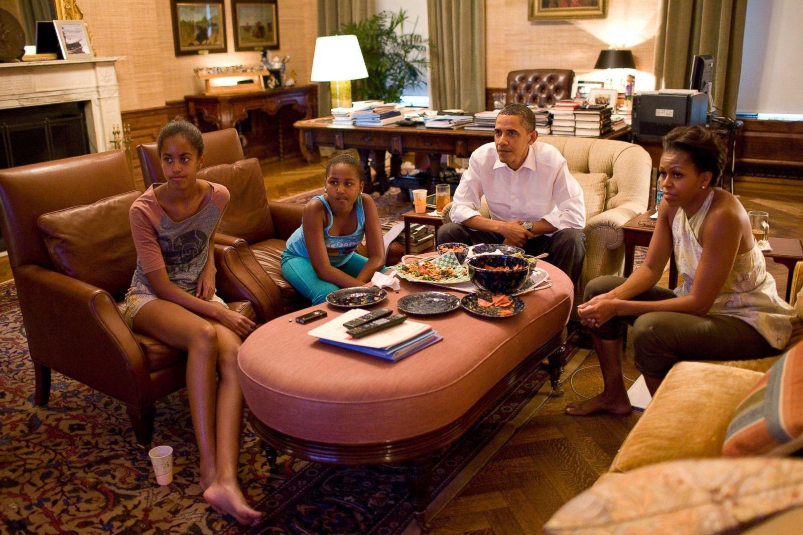 . Malia and Sasha Obama Through the Years Photos   ABC News