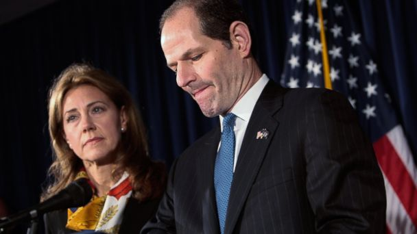 GTY silda eliot spitzer tk 131225 16x9 608 Spitzers Ending Marriage That Inspired The Good Wife