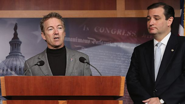 GTY ted cruz rand paul dm 130723 16x9 608 Whats Wrong With the Republican Party? Ask a Democrat