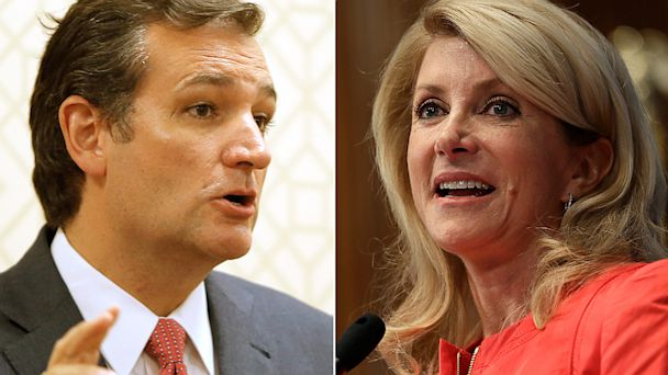 GTY ted cruz wendy davis jef 130925 16x9 608 Ted Cruz vs. Wendy Davis in Battle of the Filibusters