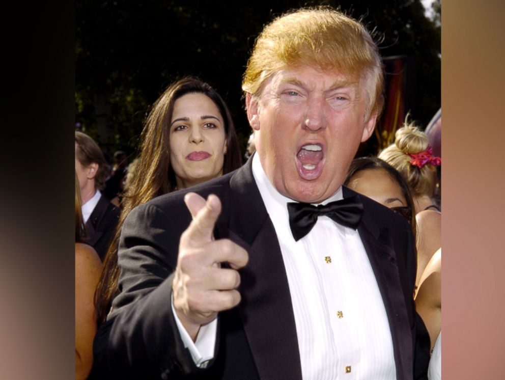 PHOTO: Donald Trump is seen during The 56th Annual Primetime Emmy Awards in Los Angeles, California.