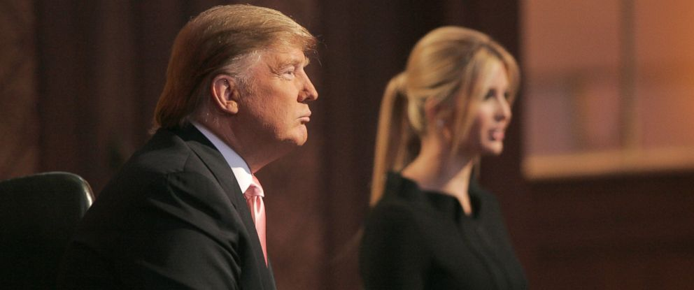 "PHOTO: Donald Trump and Ivanka Trump are seen during ""The Apprentice"" Season 6 Finale at The Hollywood Bowl at Hollywood Bowl in Hollywood, California."