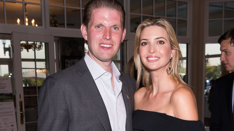 Donald Trump's Kids Eric and Ivanka Miss Deadline to Vote in NY GOP ...