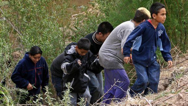 GTY undocumented children mar 140602 16x9 608 Obama Calls Surge of Children Across US Border Urgent Humanitarian Situation
